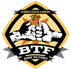 born to fight logo